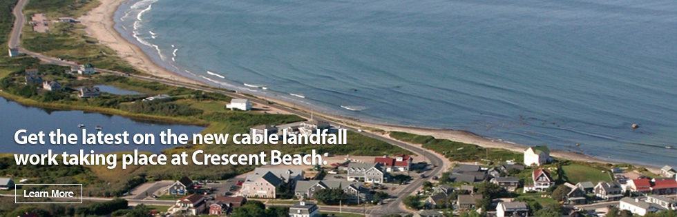 Cable landfall construction update slider